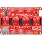 Фото 3/6 MIKROE-1437, mikromedia Plus for PIC32MX7 Shield, Плата раширения для mikromedia Plus for PIC32MX7 c 4 разъемами mikroBUS, CAN и Ethernet и