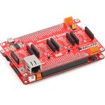 Фото 5/6 MIKROE-1437, mikromedia Plus for PIC32MX7 Shield, Плата раширения для mikromedia Plus for PIC32MX7 c 4 разъемами mikroBUS, CAN и Ethernet и