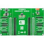 MIKROE-1447, STM32F3 Discovery Shield, Плата расширения для STM32F3DISCOVERY
