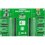 MIKROE-1447, STM32F3 Discovery Shield, Плата расширения для ...