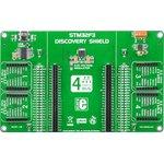 Фото 3/5 MIKROE-1447, STM32F3 Discovery Shield, Плата расширения для STM32F3DISCOVERY