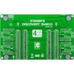 Фото 2/5 MIKROE-1447, STM32F3 Discovery Shield, Плата расширения для STM32F3DISCOVERY