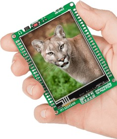 Фото 1/5 MIKROE-1448, mikromedia for PSoC 5LP, Отладочная плата на основе CY8C5868AXI-LP035 с TFT Touch Screen дисплеем 320 х 240 px