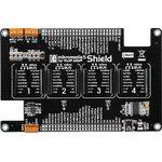 MIKROE-1529, mikromedia 5 for Tiva Shield, Плата раширения для mikromedia 5 for Tiva c 4 разъемами mikroBUS, CAN интерфейсом