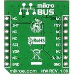 Фото 3/6 MIKROE-1719, MPU 9DOF click, Датчик 9-степеней свободы на основе чипа LSM9DS1, форм-фактор mikroBUS