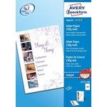 Фотобумага Avery Zweckform 2579-100 A4/150г/м2/100л./белый ...