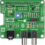 Фото 2/6 MIKROE-1767, RaspyPlay4, Hi-Fi звуковая карта для Raspberry Pi Model B+ / Pi 2