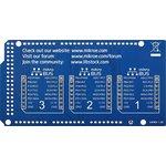 Фото 4/5 MIKROE-1900, Arduino Mega click shield, Плата расширения для подключения модулей mikroElektronika серии click (mikroBUS) к Arduino Mega