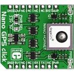 MIKROE-1912, Nano GPS click, Встраиваемый GPS модуль на ...
