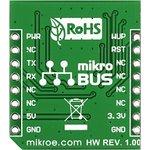 Фото 4/5 MIKROE-1912, Nano GPS click, Встраиваемый GPS модуль на основе Nano Hornet, форм-фактор mikroBUS
