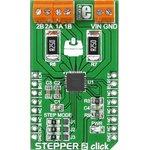 Фото 3/5 MIKROE-1926, Stepper 2 click, Драйвер управления шаговым двигателем на основе чипа A4988, форм-фактор mikroBUS