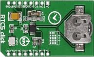 Фото 1/5 MIKROE-1990, RTC5 click, Часы реального времени/календарь на основе MCP79510, форм-фактор mikroBUS