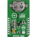 Фото 2/5 MIKROE-1990, RTC5 click, Часы реального времени/календарь на основе MCP79510, форм-фактор mikroBUS