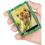 MIKROE-597, mikromedia for PIC32, Отладочная плата на основе PIC32MX460F512L с TFT Touch Screen дисплеем 320 х 240 px