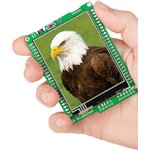 MIKROE-606, mikromedia for dsPIC33, Отладочная плата на основе dsPIC33FJ256GP710A с TFT Touch Screen дисплеем 320 х 240 px