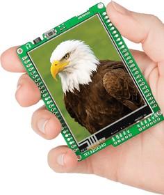 Фото 1/5 MIKROE-606, mikromedia for dsPIC33, Отладочная плата на основе dsPIC33FJ256GP710A с TFT Touch Screen дисплеем 320 х 240 px