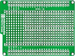 Фото 1/6 MIKROE-767, mikromedia PROTO shield, Плата раширения для mikromedia bord для прототипирования