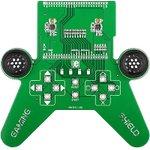 MIKROE-782, mikromedia GAMING Shield, Плата раширения для mikromedia bord для прототипирования игровых приложений