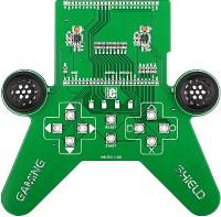 Фото 1/5 MIKROE-782, mikromedia GAMING Shield, Плата раширения для mikromedia bord для прототипирования игровых приложений