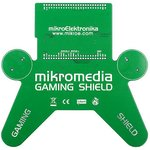 Фото 3/5 MIKROE-782, mikromedia GAMING Shield, Плата раширения для mikromedia bord для прототипирования игровых приложений