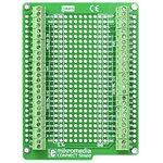 Фото 2/5 MIKROE-938, mikromedia connect shield, Плата раширения для mikromedia bord с макетной областью и клеммными колодками