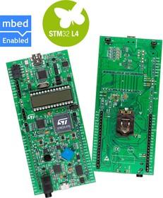 Фото 1/2 STM32L476G-DISCO, Отладочная плата на базе MCU STM32L476VGT6 (ARM Cortex-M4), ST-LINK/V2-1, LCD 24x4, 9-DOF, DAC