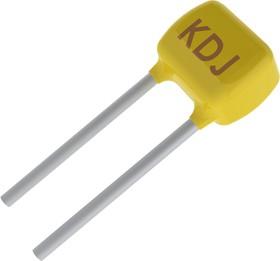 C327C473K5R5TATR, Cap Ceramic 0.047uF 50V X7R 10% Radial 5.08mm 125°C T/R