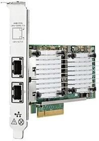Адаптер HPE Ethernet 10Gb 2P 530T (656596-B21)