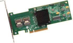 Контроллер LSI 9240-8I SGL RAID 0/1/10/5/50 8i-ports (LSI00200)