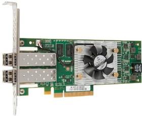 Адаптер Lenovo ThinkServer LPe16002B-M8-L PCIe 8Gb 2-port Fibre Channel by Emulex (4XB0F28704)