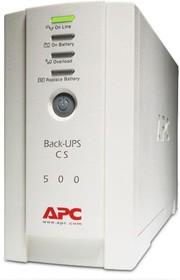 Фото 1/6 BK500EI, Источник бесперебойного питания (ИБП/UPS),500ВА/300Вт, IEC, offline, бежевый
