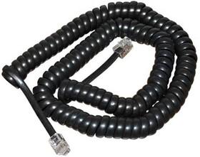 PL1215, Шнур витой трубочный 4м, черный