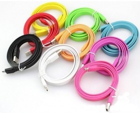 PL1331/1332/ 1333/1334/1335/ 1336/1337/1338/1339/1340, Кабель USB2.0 A вилка - Micro USB, 1 м, цветной
