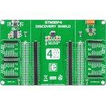 Фото 3/6 MIKROE-1481, STM32F4 Discovery Shield, Плата расширения для STM32F407G-DISC1