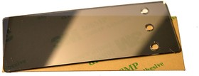 FS74x29MS, Лицевая панель 74x29 мм, зеркальная серебристая