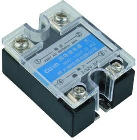 Фото 1/2 HHG1-1/032F-38-100A, Реле 3-32VDC, 100A/440VAC (zero-cross)