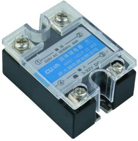 HHG1-1/032F-38-80A, Реле 3-32VDC, 80A/440VAC (zero-cross)