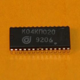 К04КП020, Шестиканальный коммутатор, DIP-28