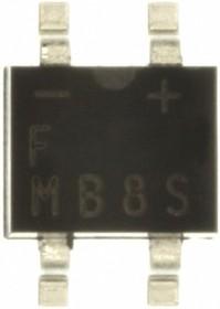 MB8S, Мост 0.5А, 800V