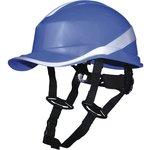 Каска защитная BASEBALL DIAMOND V UP из ABS синего цвета DIAM5UPBLFL