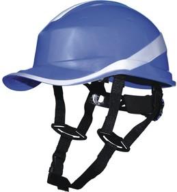 Фото 1/5 Каска защитная BASEBALL DIAMOND V UP из ABS синего цвета DIAM5UPBLFL