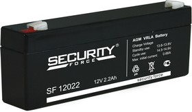 SF12022, Аккумулятор свинцовый 12В-2.2 Ач, 178*35*60мм