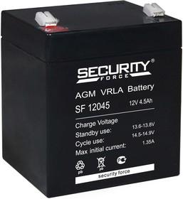 SF12045, Аккумулятор свинцовый 12В-4.5 Ач, 90*70*101мм, (F1)   купить в розницу и оптом