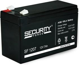 SF1207, Аккумулятор свинцовый 12В-7 Ач, 152*65*93мм