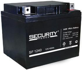 SF1240, Аккумулятор свинцовый 12В-40 Ач, 198*166*170мм