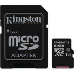 Карта памяти microSDXC KINGSTON 64 ГБ, Class 10 ...