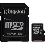 Карта памяти microSDXC UHS-I KINGSTON 128 ГБ, 45 МБ/с ...