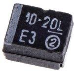 Фото 3/6 293D106X9020B2TE3, танталовый SMD конденсатор 10 мкФ х 20В типВ 10% 2013 год.