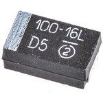 Фото 3/5 293D107X9016D2TE3, танталовый SMD конденсатор 100 мкФ х 16В 293D типD 10