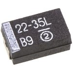 Фото 3/4 593D226X9035D2TE3, танталовый SMD конденсатор 22 мкф х 35в типD 10% LOW ESR